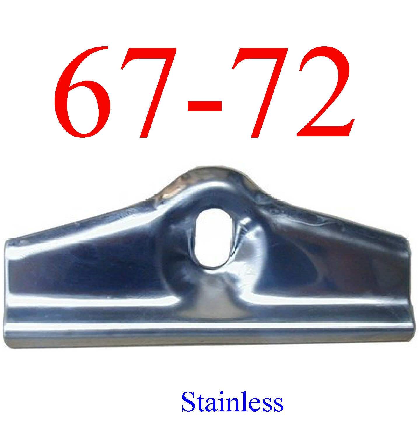 67-72 Stainless Chevy Battery Hold Down Bracket